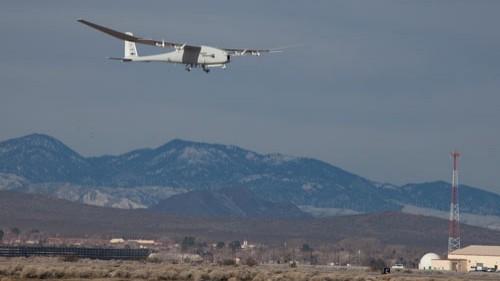 Global Observer's maiden hydrogen-powered flight (USAF)