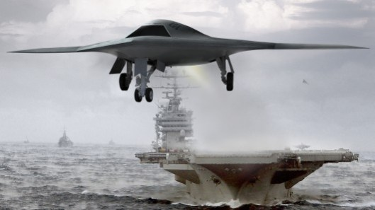 X-47B first flight: the era of the autonomous unmanned combat plane approaches