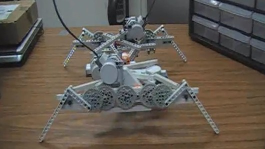 Learning to crawl before they walk makes for smarter robots