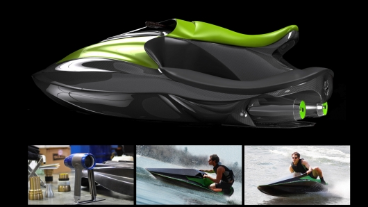 The Green Samba – the first viable electric Personal Water Craft