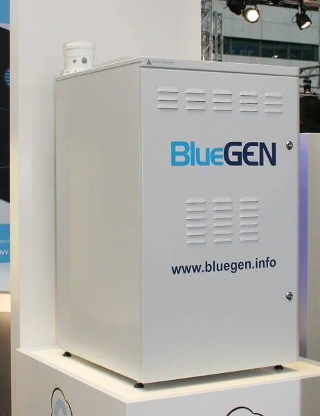 BlueGen mini power stations for the world