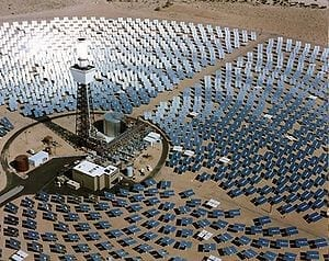 World's first solar power plant that can work at night