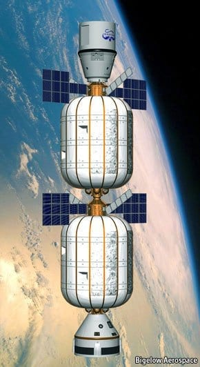 A plan to use enormous balloons to build inflatable space stations