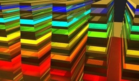 Engineers are catching rainbows with a material that slows light