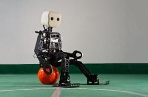 New Soccer Robot Has Human-Like Agility
