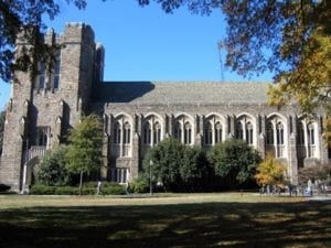 Perkins Library at Duke University