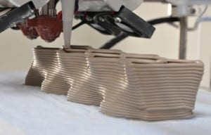 Desktop 3D Printer Creates Ceramic Bricks for Buildings