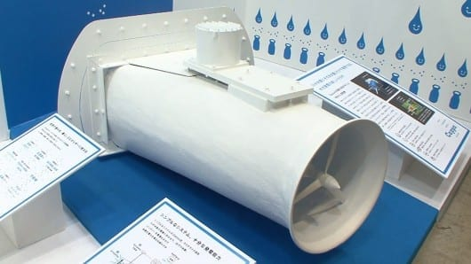 Ibasei's Cappa provides hydroelectricity on a small scale