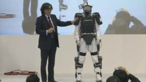 Japanese first responders to wear robotic exoskeletons
