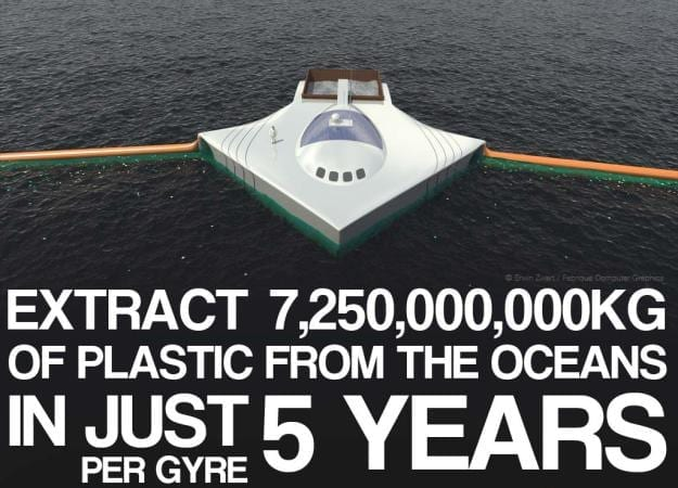 Teenager's Clean Machine Could Remove 7 Million Tons of Plastic from the Ocean