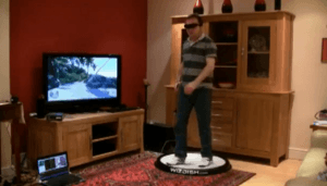 WizDish offers moonwalking solution to virtual reality immersion
