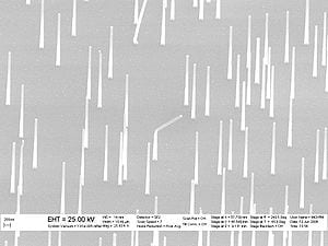 Nanowires with the power to transform solar energy