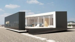 Hungary's Odooproject prefab home produces twice the amount of energy it consumes
