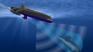 DARPA developing unmanned sub hunters