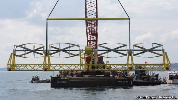 Tidal power: Small is beautiful