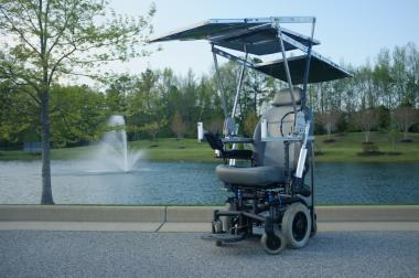 Solar-Powered Wheelchair Wins World Cerebral Palsy Day Competition
