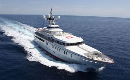 Humphreys Research Group Successfully Spoofs an $80 million Yacht at Sea