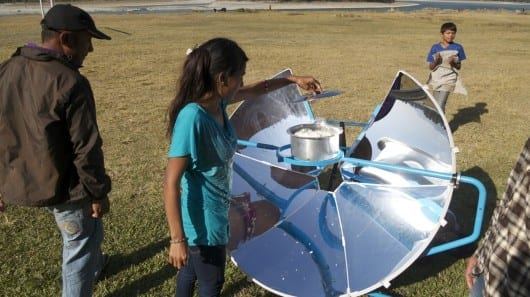 SolSource uses the heat of the sun to cook your food