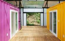 Very Cool Low Cost Container House