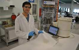 A biotechnology product to make waterproof paper using natural enzymes