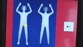 Result monitor of a body scanner (Photo credit: Wikipedia)