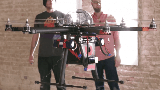Chaotic Moon's CUPID is a drone that can taser people with an 80,000 volt shock