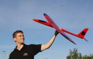 Bio-inspired unmanned aircraft capable of soaring like birds
