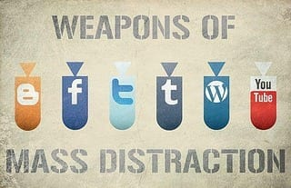 Weapons Of Mass Distraction (Photo credit: birgerking)