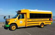 Electric school buses that power grid could save school districts millions