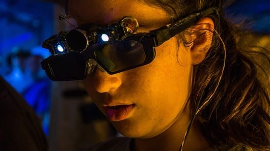 Researchers in Mexico are building lenses that help the visually impaired navigate their environment (Photo: Cinvestav)