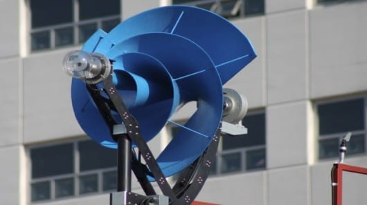 The Liam F1 Urban Wind Turbine is said to be considerably more efficient than most conventional turbines