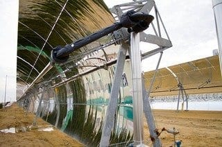 Concentrating solar power (Photo credit: Tom Raftery)