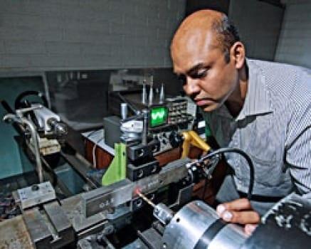 Dr Anish Roy. Credit: Image courtesy of University of Loughborough