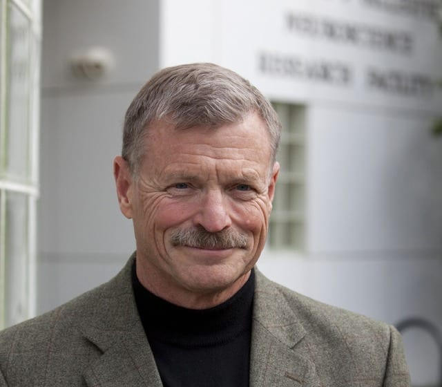 UC Irvine Oswald Steward is director of the Reeve-Irvine Research Center at UCI.