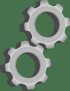 Gear Icon (Photo credit: Wikipedia)