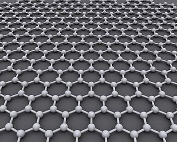 The ideal crystalline structure of graphene is a hexagonal grid. (Photo credit: Wikipedia)