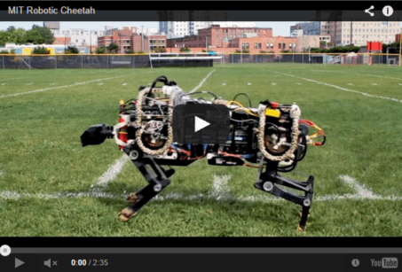 See the MIT cheetah-bot in action, and learn how it works. Video: Melanie Gonick/MIT