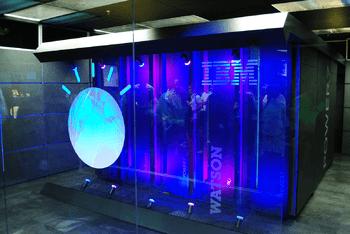 English: IBM's Watson computer, Yorktown Heights, NY (Photo credit: Wikipedia)