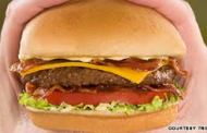 This Fake Burger Oozes
