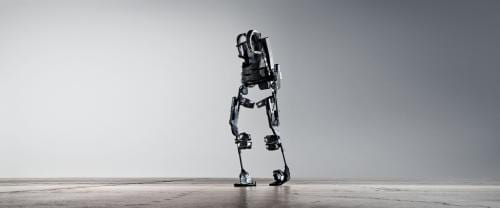 via FLICKR: EKSO BIONICS Bionic exoskeletons like this may one day incorporate memory-displaying artificial muscles