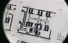 Innovative process to print flexible electronic circuits using a t-shirt printer