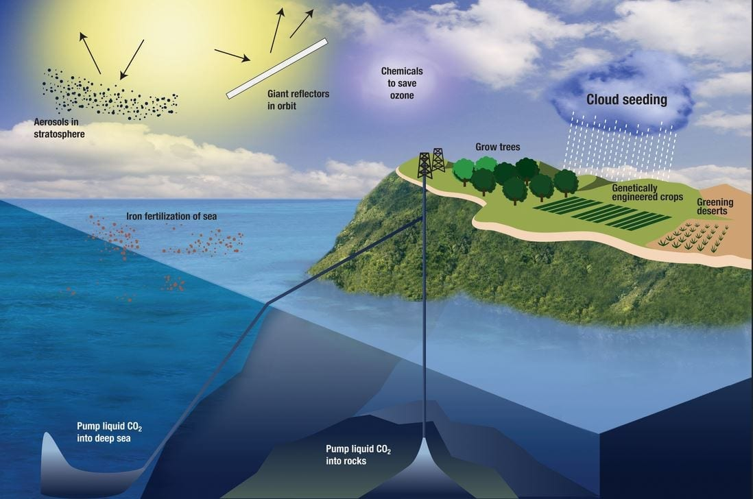 Advent of geoengineering may help lower temperature of debate over climate change