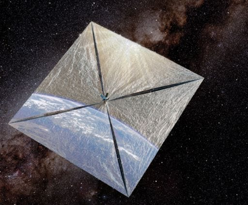 Hoping to Set Sail on Sunlight - Solar sail