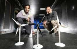 Iowa State engineers study the benefits of adding a second, smaller rotor to wind turbines