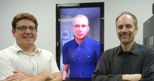 A Virtual Patient: Avatar Shows Emotions as He Talks to Med Students