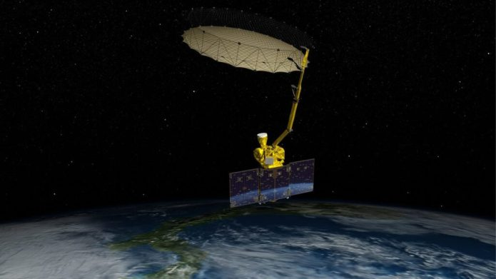 NASA's Soil Moisture Active Passive (SMAP) mission will produce high-resolution global maps of soil moisture to track water availability around our planet and guide policy decisions.Image Credit: NASA/JPL-Caltech