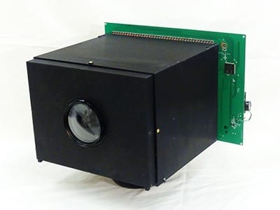 A video camera based on a self-powered image sensor can run indefinitely without an external power supply. —Image courtesy of the Computer Vision Laboratory