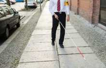 Smart cane provides facial recognition for the blind