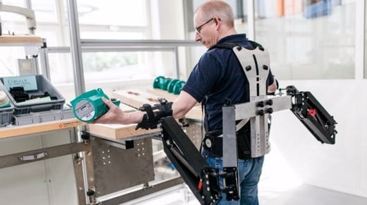 Robo-Mate exoskeleton aims to lighten the load for industry