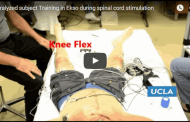 Completely paralyzed man voluntarily moves his legs